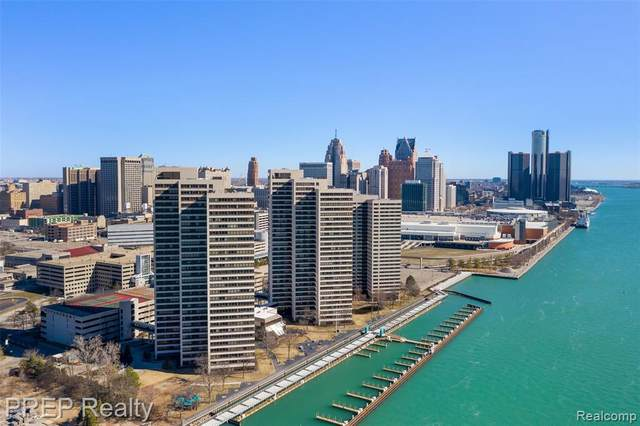 300 Riverfront Drive 24D, Detroit, MI 48226 (#2210063811) :: The Vance Group | Keller Williams Domain