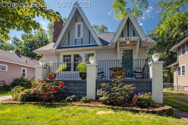 531 W Saratoga Street, Ferndale, MI 48220 (#2210063980) :: RE/MAX Nexus