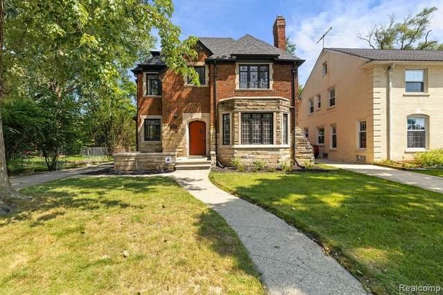 17126 Muirland Street, Detroit, MI 48221 (#2210065530) :: The Vance Group | Keller Williams Domain