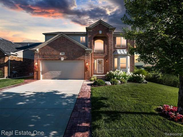 5849 Gregory Drive, Shelby Twp, MI 48317 (#2210067529) :: GK Real Estate Team