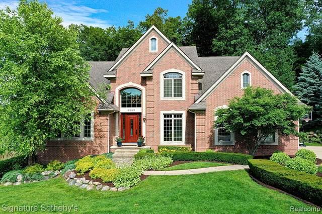 8989 Hidden Court E, Green Oak Twp, MI 48178 (#2210068737) :: Duneske Real Estate Advisors