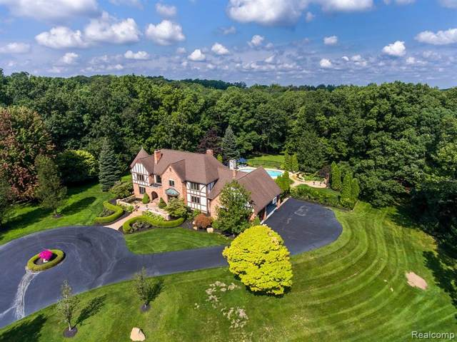 5460 Great Fosters Drive, Oakland Twp, MI 48306 (#2210069436) :: The Vance Group   Keller Williams Domain