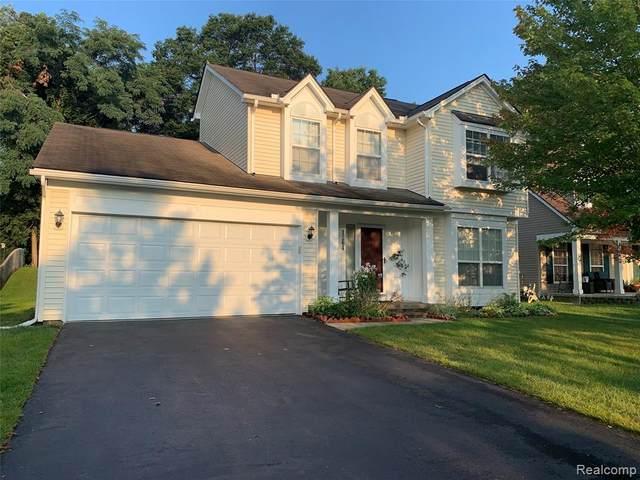 1264 Poppy Hill Drive, Oxford Twp, MI 48371 (#2210070128) :: GK Real Estate Team