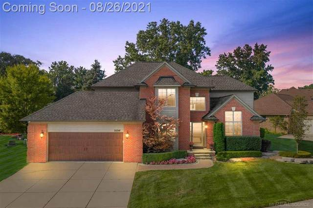 56841 Copperfield Drive, Shelby Twp, MI 48316 (#58050052987) :: GK Real Estate Team