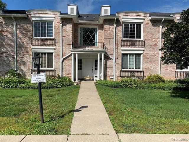 1745 Tiverton Rd #20, Bloomfield Hills, MI 48304 (#2210070827) :: Robert E Smith Realty