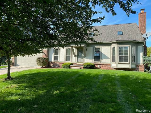 2011 Hawks Nest Court, Canton Twp, MI 48188 (#2210072067) :: Real Estate For A CAUSE