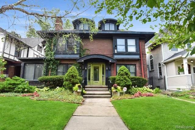 718 Longfellow Street, Detroit, MI 48202 (#2210072875) :: The Vance Group | Keller Williams Domain