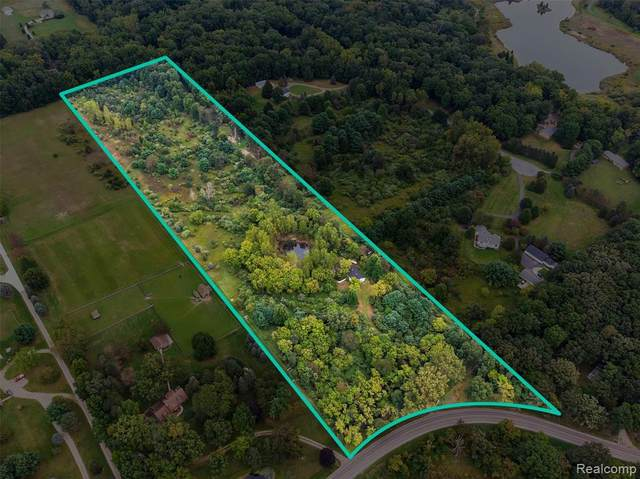 3824 W Coon Lake Road, Marion Twp, MI 48843 (#2210075943) :: Duneske Real Estate Advisors