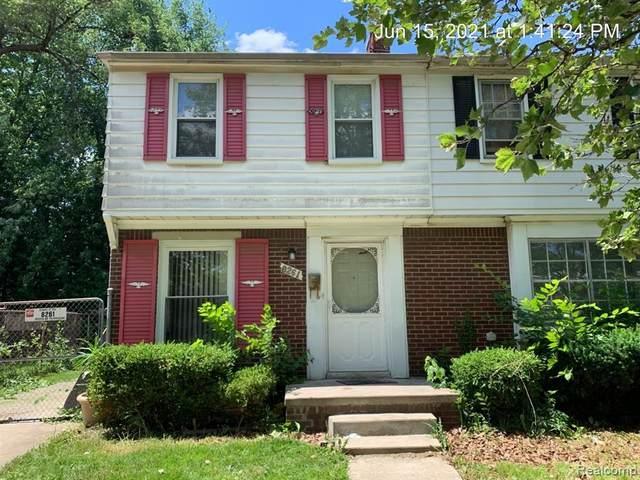 8261 Manor Street, Detroit, MI 48204 (#2210076474) :: The Vance Group | Keller Williams Domain