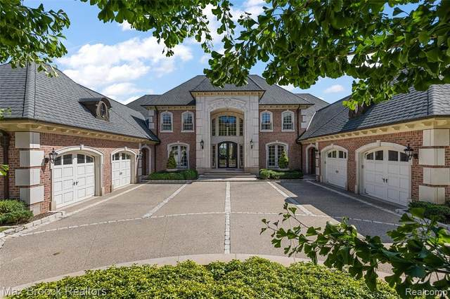 2755 Turtle Shores Drive, Bloomfield Twp, MI 48302 (#2210076626) :: Alan Brown Group