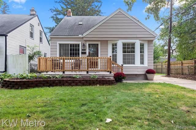 317 S Edison Avenue, Royal Oak, MI 48067 (#2210076748) :: Duneske Real Estate Advisors