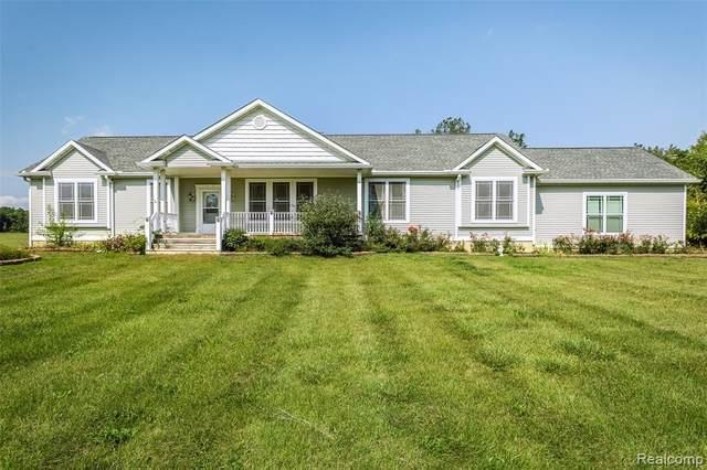 7193 Hollow Corners Road, Almont Twp, MI 48003 (#2210077172) :: Duneske Real Estate Advisors