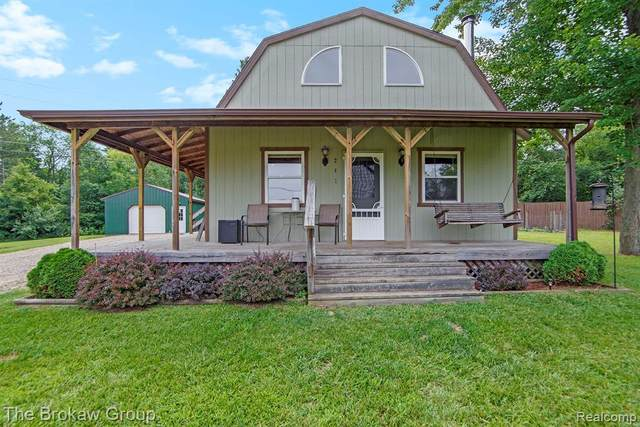 241 S Lake Drive, Deerfield Twp, MI 48421 (#2210077454) :: The Vance Group   Keller Williams Domain