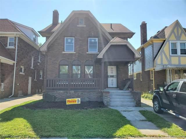 4219 Pasadena Street, Detroit, MI 48238 (#2210077504) :: The BK Agency