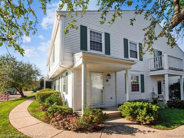 109 Lake Village Drive, Walled Lake, MI 49390 (#2210077511) :: Real Estate For A CAUSE