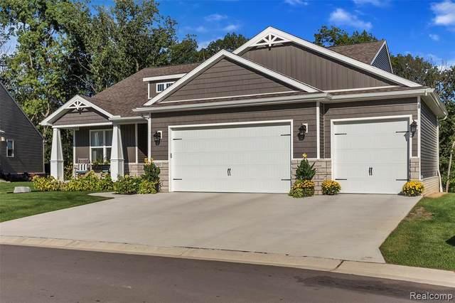 555 Trestle Dr - Homesite 16, Marion Twp, MI 48843 (#2210077877) :: The Vance Group | Keller Williams Domain