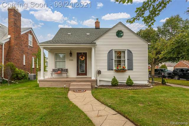 2000 N Elizabeth Street, Dearborn, MI 48128 (#2210078358) :: GK Real Estate Team