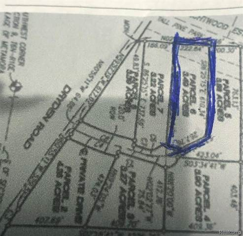 0 Helens Gate Lot 6, Metamora Vlg, MI 48455 (#2210078592) :: RE/MAX Nexus