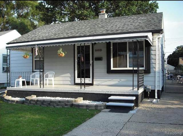 960 E Garfield Avenue, Hazel Park, MI 48030 (#2210078777) :: RE/MAX Nexus