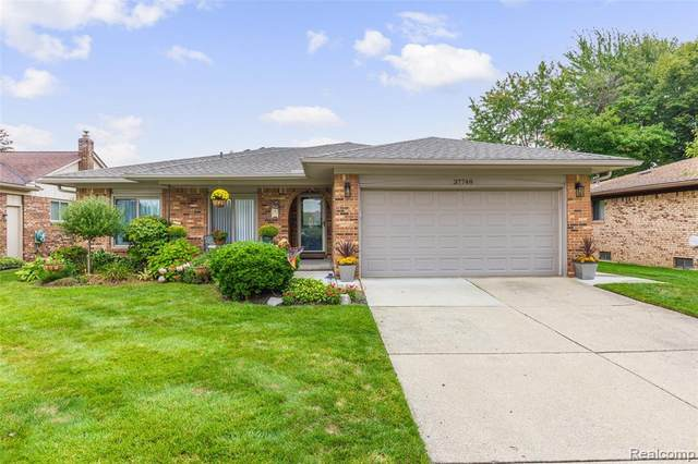 37748 Tericrest Drive, Sterling Heights, MI 48310 (#2210078976) :: Real Estate For A CAUSE