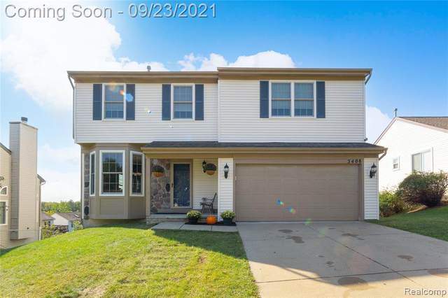 3408 Hilltop Drive, Holly Vlg, MI 48442 (#2210079016) :: Real Estate For A CAUSE