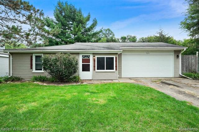 4884 Allingham Drive, White Lake Twp, MI 48383 (#2210079081) :: Real Estate For A CAUSE