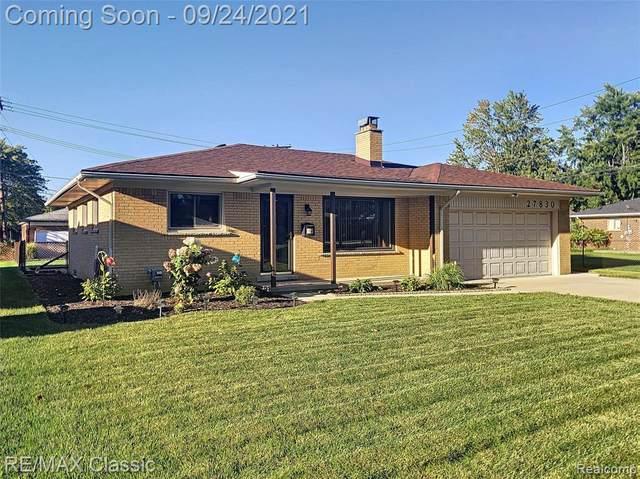 27830 Buckingham Street, Livonia, MI 48154 (#2210079174) :: GK Real Estate Team