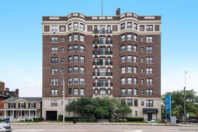 2900 E Jefferson Ave # 61-C8, Detroit, MI 48207 (#2210079414) :: Real Estate For A CAUSE