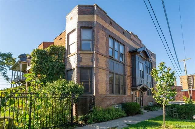 1545 Selden St # 10 2W, Detroit, MI 48208 (#2210079650) :: Robert E Smith Realty