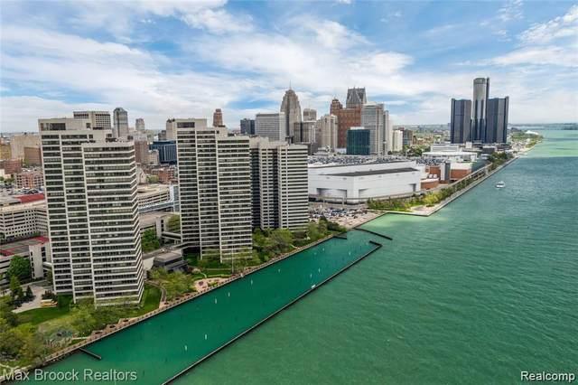 1001 W Jefferson Ave 20G, Detroit, MI 48226 (#2210079925) :: National Realty Centers, Inc