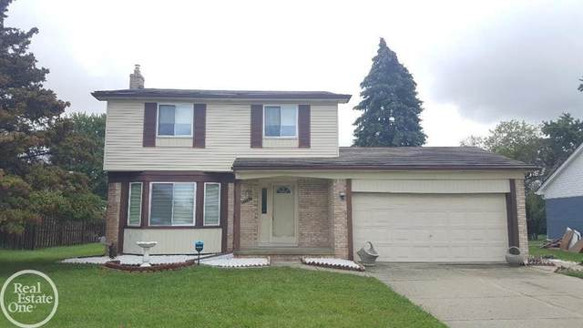 41452 Justin, Clinton Twp, MI 48038 (#58050055941) :: Real Estate For A CAUSE