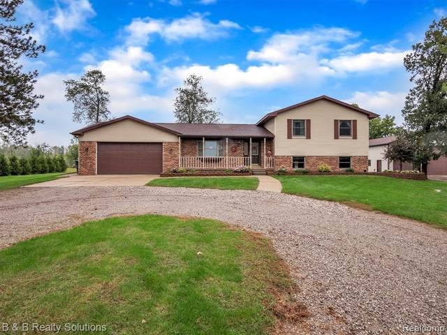 8109 Almont Road, Almont Twp, MI 48003 (#2210080284) :: The Vance Group   Keller Williams Domain