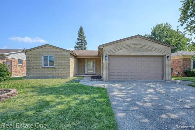 40404 Forsythe Drive, Clinton Twp, MI 48038 (#2210080438) :: Real Estate For A CAUSE