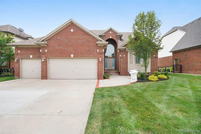 48917 Austrian Pine Drive, Macomb Twp, MI 48044 (#2210080696) :: Real Estate For A CAUSE