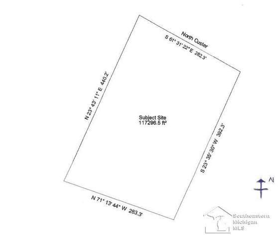 00 N Custer, Raisinville Twp, MI 48162 (#57050056097) :: National Realty Centers, Inc
