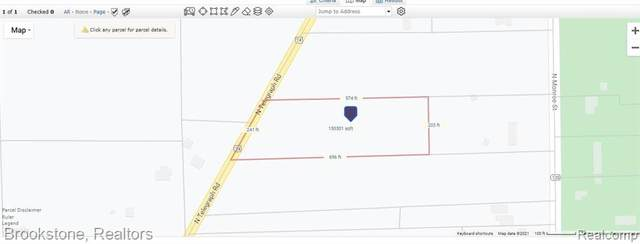 VACANT N Telegraph Road, Frenchtown Twp, MI 48162 (#2210080863) :: National Realty Centers, Inc