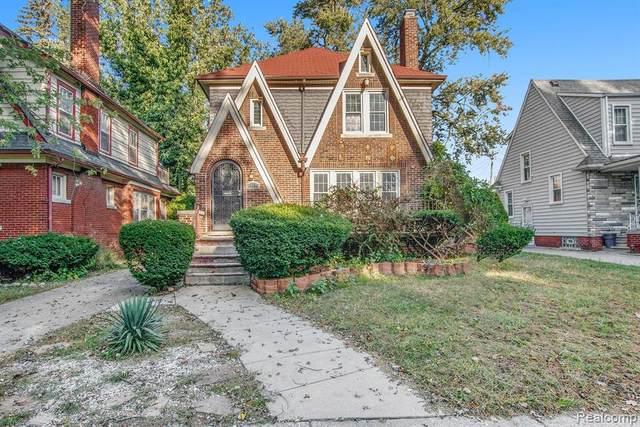 16864 Princeton Street, Detroit, MI 48221 (#2210081513) :: The BK Agency