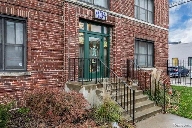 434 W Alexandrine Street #207, Detroit, MI 48201 (#2210082387) :: Real Estate For A CAUSE