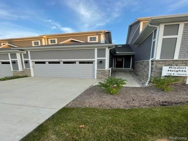 108 E Henry Street #802, Saline, MI 48176 (#2210082655) :: Real Estate For A CAUSE