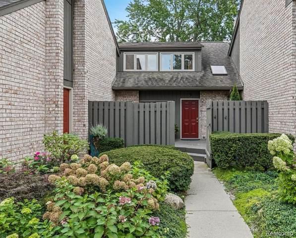 41350 Woodward Ave Unit 3 #3, Bloomfield Hills, MI 48304 (#2210084379) :: Robert E Smith Realty