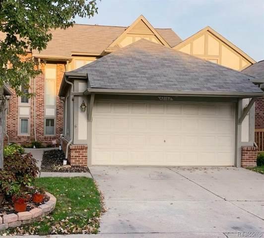 42182 Saratoga Circle, Canton Twp, MI 48187 (#2210084508) :: Real Estate For A CAUSE