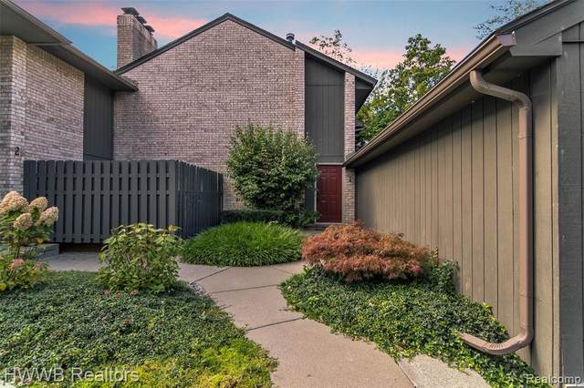41350 Woodward Avenue #1, Bloomfield Hills, MI 48304 (#2210084933) :: Robert E Smith Realty