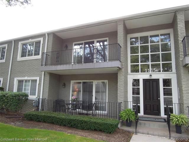 1115 N Old Woodward Avenue #65, Birmingham, MI 48009 (#2210085163) :: National Realty Centers, Inc