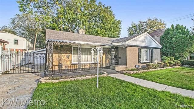 19016 Birchcrest Drive, Detroit, MI 48221 (#2210085902) :: The BK Agency