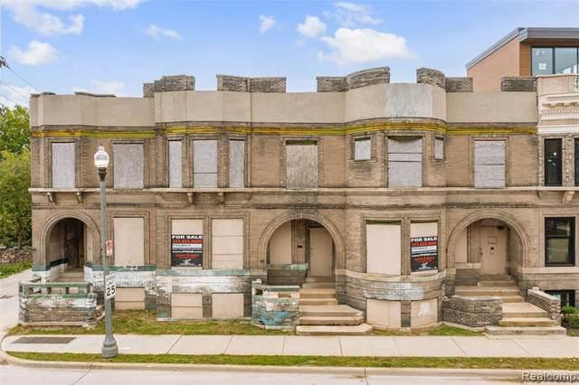 3418-3426 John R Street, Detroit, MI 48201 (#2210086543) :: Duneske Real Estate Advisors