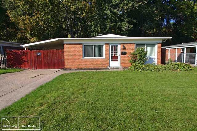1303 Moulin Ave, Madison Heights, MI 48071 (#58050057956) :: Robert E Smith Realty