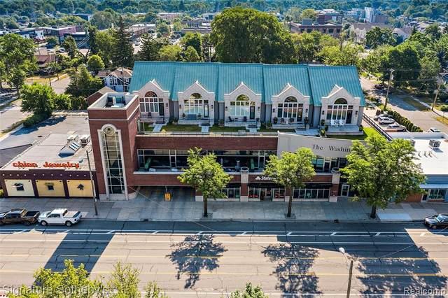 1021 S Washington Avenue G, Royal Oak, MI 48067 (#2210086806) :: Real Estate For A CAUSE