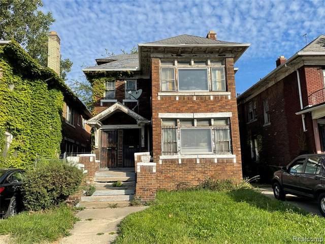 2058 Clairmount Street, Detroit, MI 48206 (#2210086895) :: Duneske Real Estate Advisors