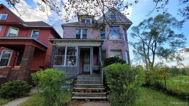 3517 Townsend Street, Detroit, MI 48214 (#2210086916) :: The Mulvihill Group