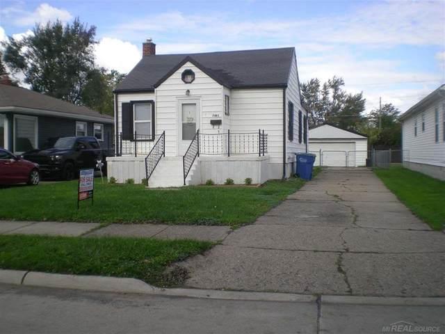 7481 Gerald, Warren, MI 48092 (#58050058229) :: Real Estate For A CAUSE